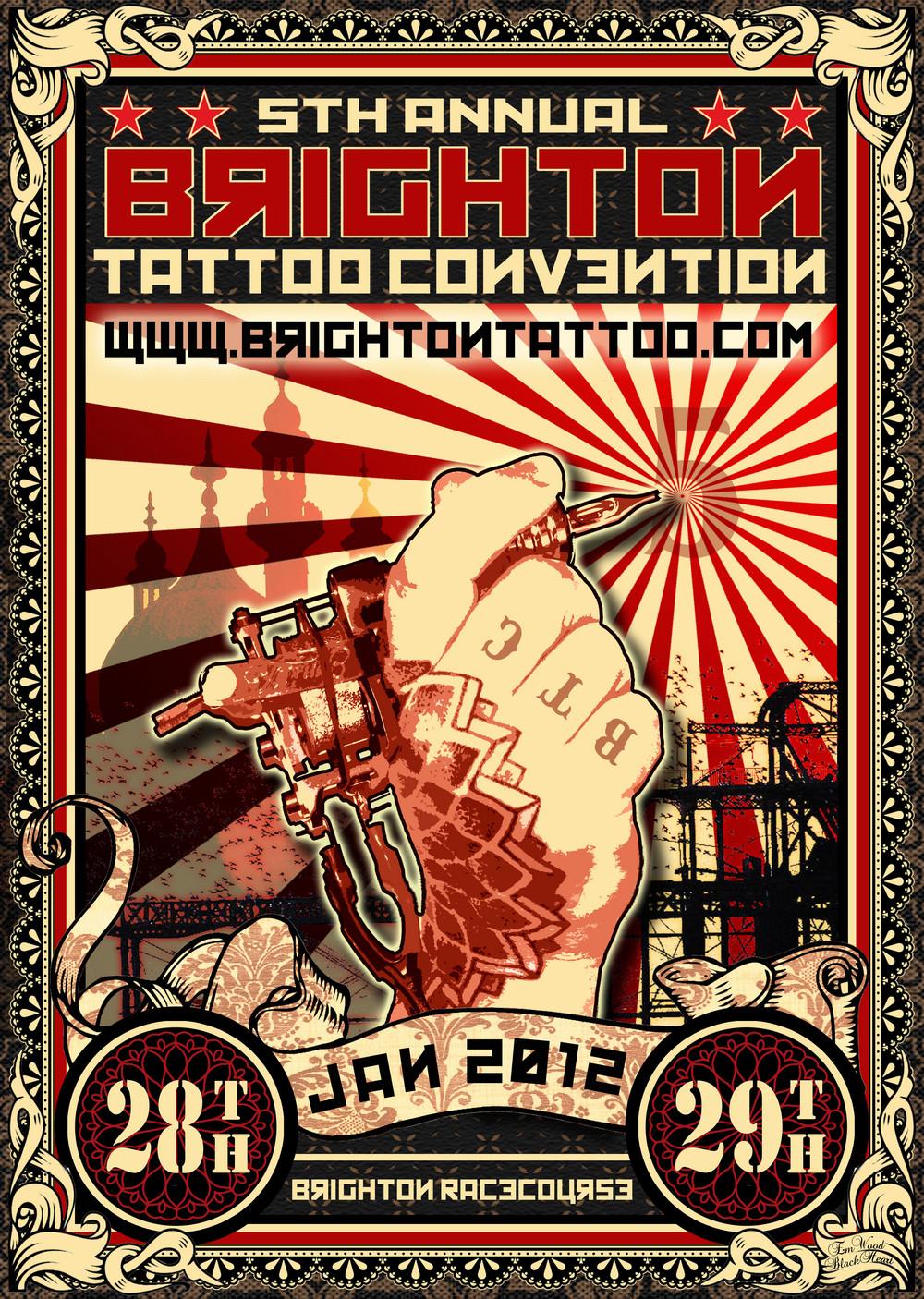 Vintage Tattoo Poster
