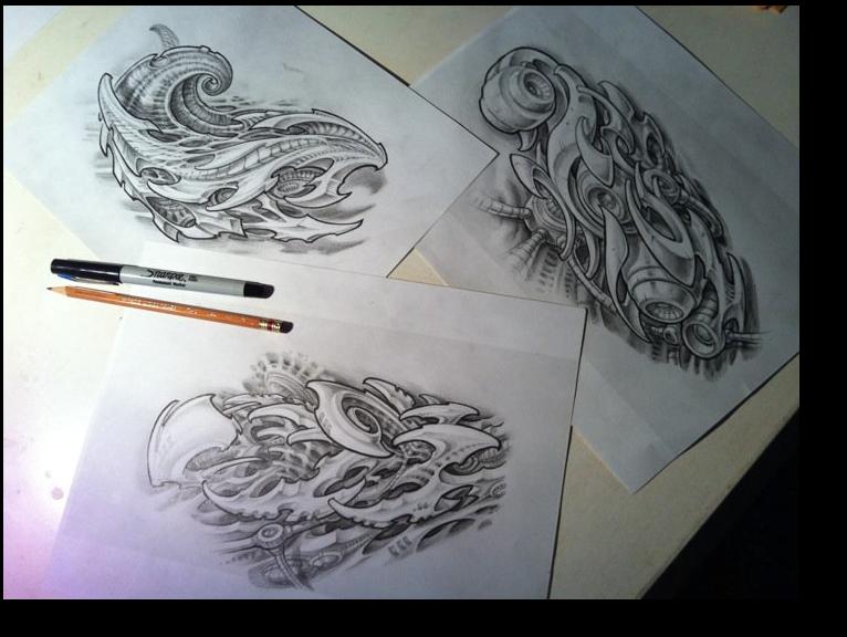 Comment dessiner tatouage - Creer son tatouage polynesien ...