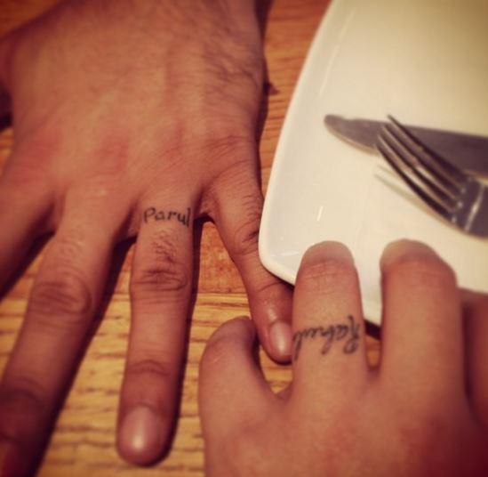 Un Tatouage Au Lieu D Une Alliance Tattoos Fr