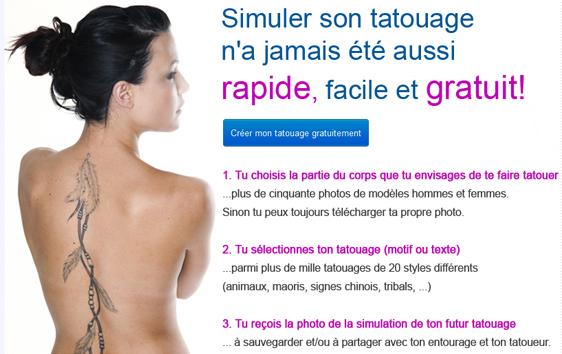 Tatou Pour Toi Comment Simuler Son Tatouage Tattoos Fr