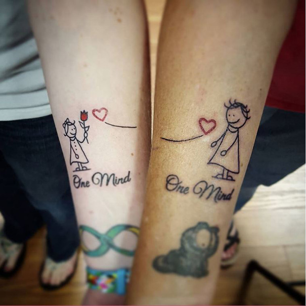 Tatouages Complementaires Mere Et Fille Tattoos Fr
