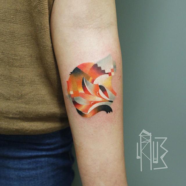 Des Tatouages D Animaux Pixelises Tattoos Fr