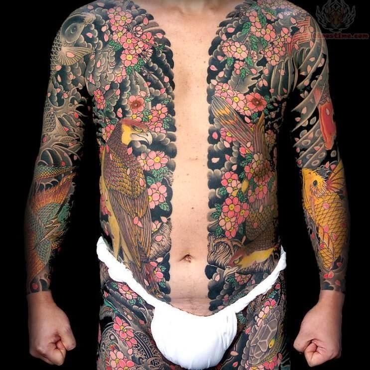 Les Yakuzas Et Le Rituel Du Tatouage Tattoos Fr